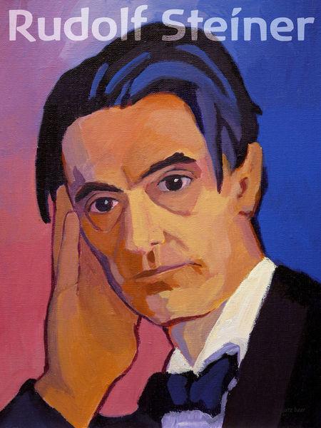 A Pedagogia Waldorf foi desenvolvida no início do século XIX, pelo filósofo Rudolf Steiner, com a intenção de que atendesse aos filhos dos funcionários de ... - rudolf-steiner-poster